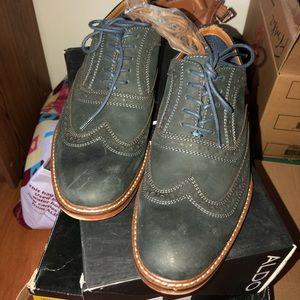 Aldo blue men's dress shoes.